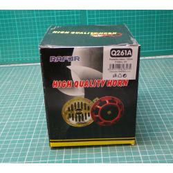 Car Horn 12V, 115dB/m, disc 125mm, pack of 2 horns
