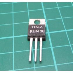 KUN20, N Type Mosfet, 200V, 7A, 70W, TO220