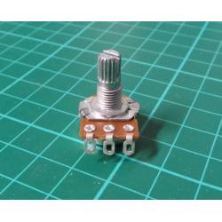 Potenciometr: axiální, jednootáčkový, 10kΩ, 63mW, ±20%, na kabel