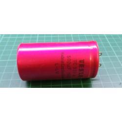 500u/150V, 35x67mm, TC939a, elektrolyt. kondenzator radialni