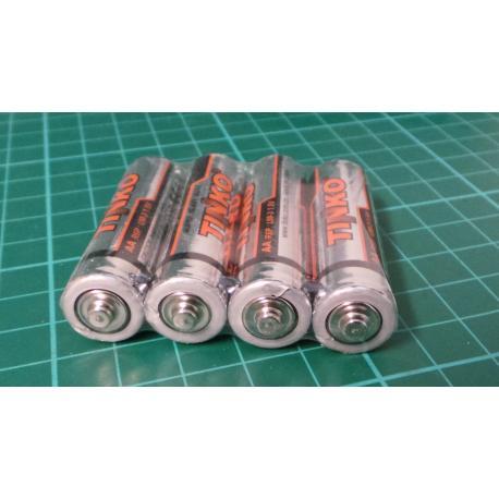 Baterie TINKO AA(R6) Zn-Cl, balení 60ks