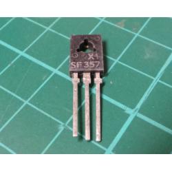 SF357 Tranzistor vf NPN 160V/0.1A 1.2[6]W, 60MHz TO-126