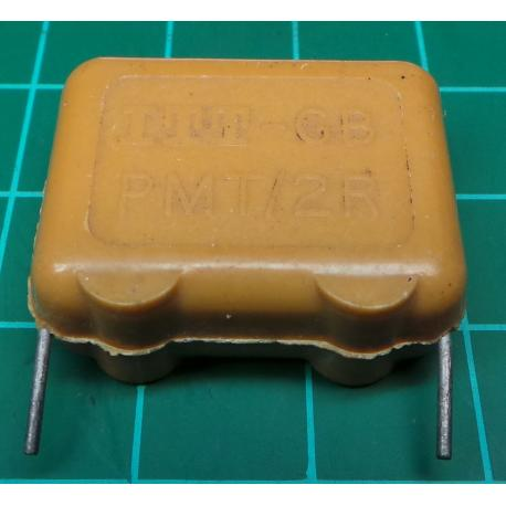 Capacitor, 680nF, 250V, Polypropylene Film, Old Stock
