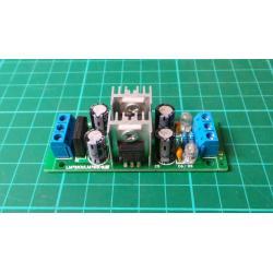 LM7805 + LM7905 ±5V Dual Voltage Regulator Rectifier Bridge Power Supply Module