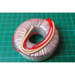 Trafo toroid 230V/12V 35VA TS35BP průměr 70x26 mm