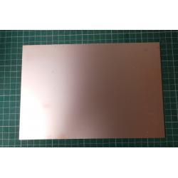 Cuprextit 310x215x1,5mm, jednostranný, materiál FR4 35um