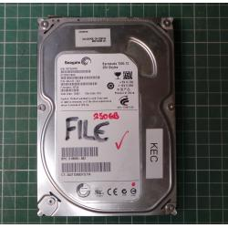 USED Hard Disk, Desktop, SATA, 250GB