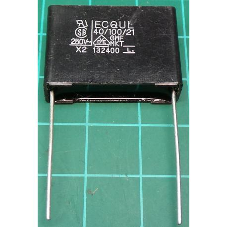 Capacitor, 470nF, 275V, Polyester Film