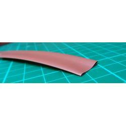 Heat shrink sleeve 10,0 / 5,0mm brown, package 100m