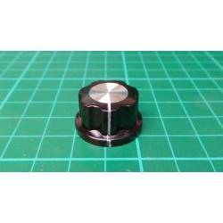 Instrument knob MF-A02 23x15mm, shaft 6mm