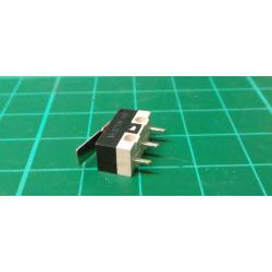 Microswitch ON-ON 1pol.125V / 1A with lever (DM-101P303)