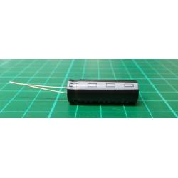 Kondenzátor: elektrolytický, THT, 47uF, 400VDC, Ø12,5x30mm, ±20%