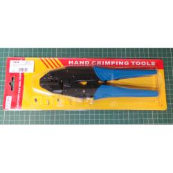 Ratchet Crimper Plier HS-06WF2C Insulated Terminals Crimping Tools Use for 0.5-6 mm² (20-10 AWG)