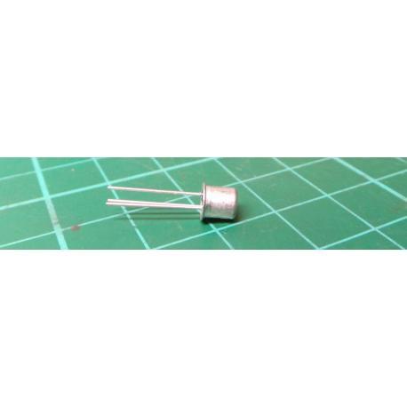 Tranzistor: NPN, bipolární, 25V, 200mA, 0,2/0,75W, TO18, 4dB