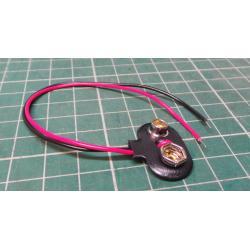 Battery Clip, 9V, PP3 / MN1604