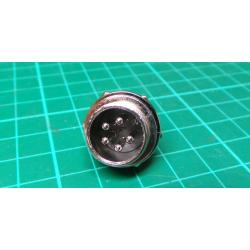 Locking Chassis Plug 5-way