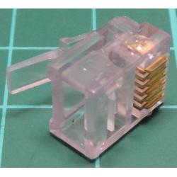 RJ11 PCB Socket