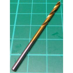 Drill Bit, 2.5mm, TIN