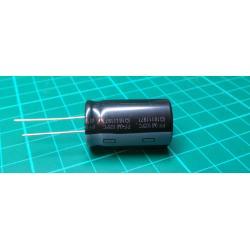 Capacitor: electrolytic, THT, 4700uF, 35VDC, Ø18x30mm, ± 20%