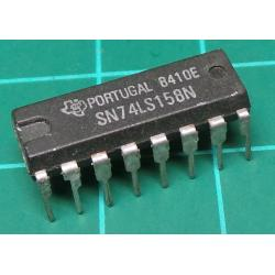74158, SN74LS158N, quad 2-line to 1-line data selector/multiplexer, inverting