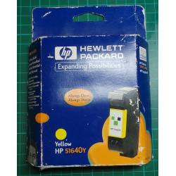 HP, 51640Y, Yellow