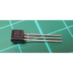 Transistor: PNP, bipolar, 50V, 100mA, 350 / 1W, TO92, 10dB