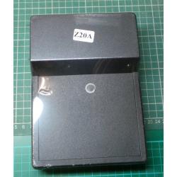 Kryt: panelová, X:138mm, Y:189mm, Z:59mm, polystyrén, černá