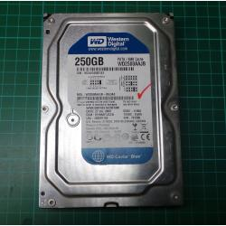USED Hard disk, 250GB