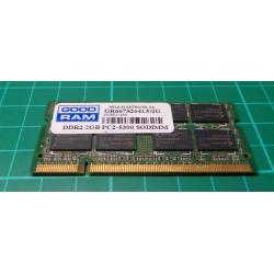 USED SODIMM, 2GB, DDR2-667, PC2-5300