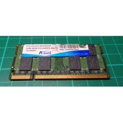 USED SODIMM, 2GB, DDR2-800, PC2-6400