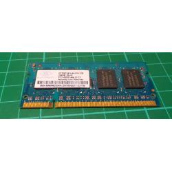 USED SODIMM, 256MB, DDR2-533, PC2-4200