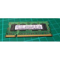 USED SODIMM, 1GB, DDR2-800, PC2-6400