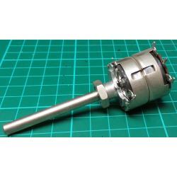 Potentiometer, 2 x 500R, Lin, THT, 6x50mm Shaft