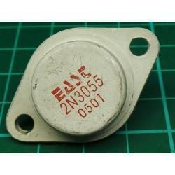 2N3055, NPN Power Transistor, 100V, 15A, 115W