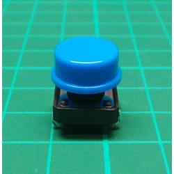 Tactile Switch PCB Tact Push Button Momentary, Blue, 12 x12x 7.3mm