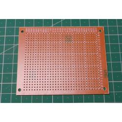 Matrixboard, 7x9cm, Pitch 2.54mm, drilled