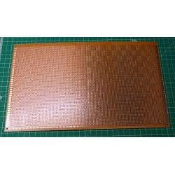 Universal PCB 18x30cm, 7280p, RM2,54mm, drilled