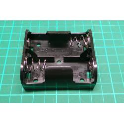 Battery Holder, 2 x C