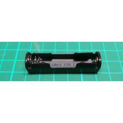 Battery Holder, 1 x AAA