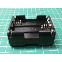 Battery Holder, 6 x AA