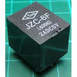 Relay, SPST, 5V, 28VDC-2A, 230VAC-1A