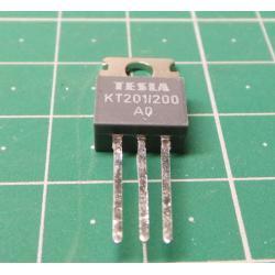 Thyristor KT201 / 200 200V / 3A 20mA TO220AB