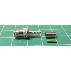 SMA coaxial socket 3mm (RG174,188,316 / U) press