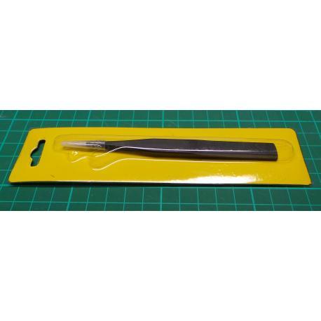 Tweezers 125mm antistatic