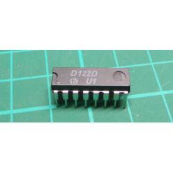D122D - reading amplifier for ferrite memories, DIL16