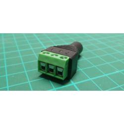 JACK jack 3,5 stereo with terminal block
