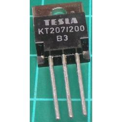 KT207/200, Triac, 5A, 200V