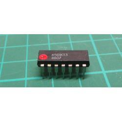 K561KT3-4x analogovy spinac DIL14/ CD4066A/