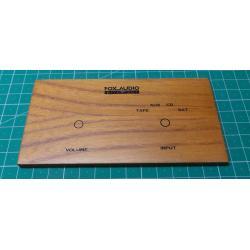 Dreveny celni panel 135x70x5,5mm se subpanelem