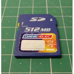 SD, 512MB, Class 4